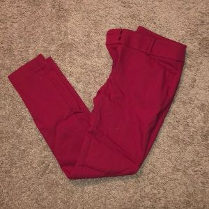 Magenta Pink Julie fit dress pants from loft!
